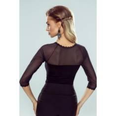 Bluzka damska Aisha czarna doskonałą na prezent świąteczny poleca sklep Pradlo