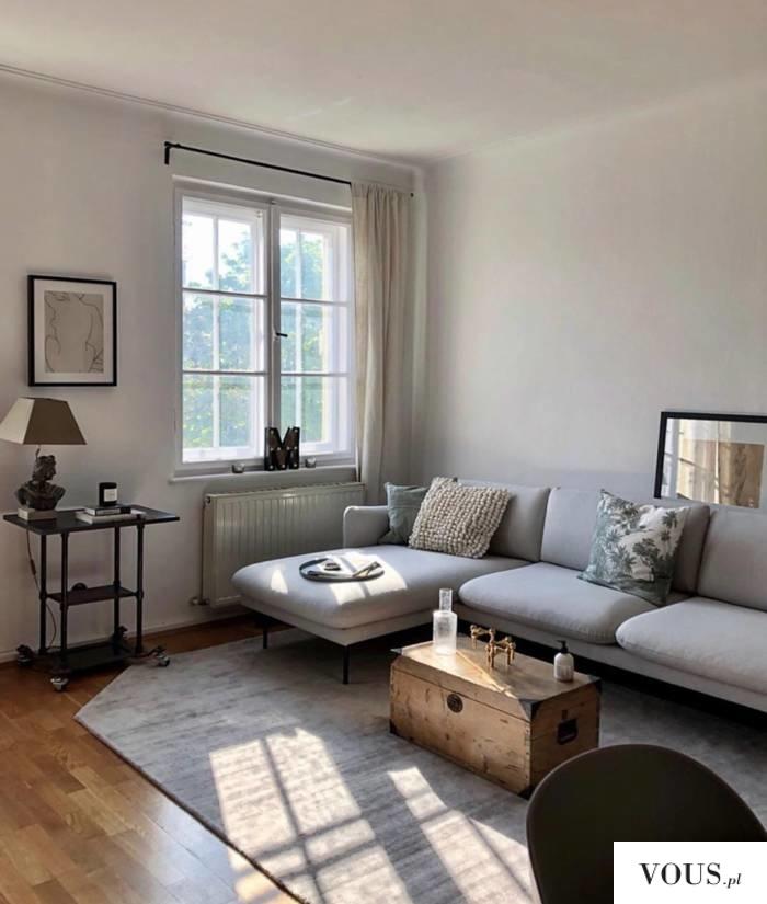 sofa szara nowoczesna