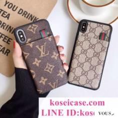 グッチ GUCCI iphone11 pro maxケース ルイヴィトン LV iphone11 pro/11 ケース カード入れ iphoneXS M ...