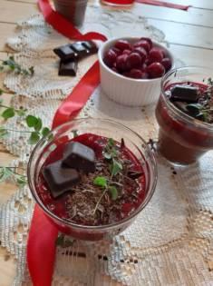 Mus czekoladowy z wiśniami | AleTorcik! – przepisy na pyszne, domowe ciasta, ciasteczka i  ...