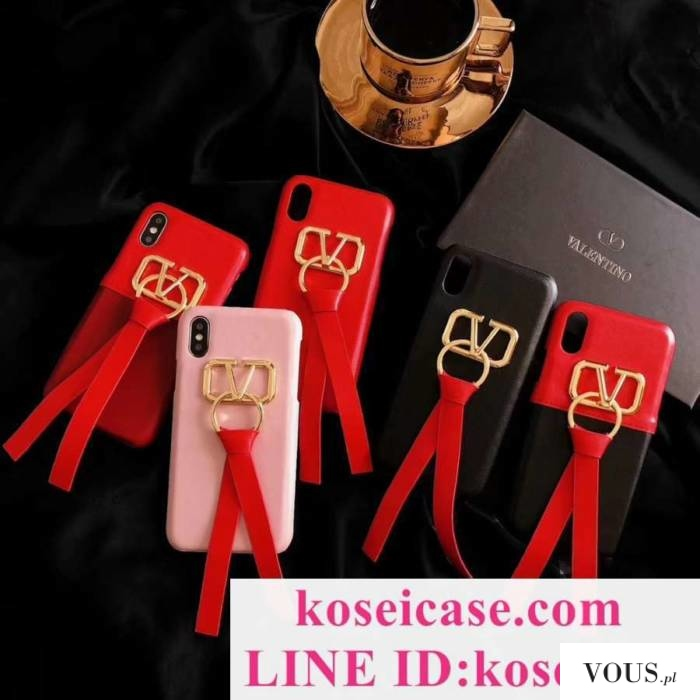 ヴァレンティノ Valentino iphone11 pro max/11 pro/11 ケース ペア向け リボン付き iphoneXs max/10s  ...