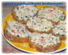 Pasta z paluszkami krabowymi | Blog Kulinarny