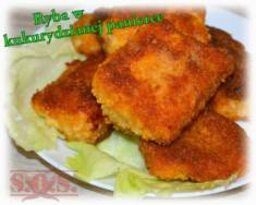 Ryba w kukurydzianej panierce | Blog Kulinarny
