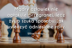 ✩ Wiliam Szekspir cytat o mądrym człowieku ✩ | Cytaty motywacyjne