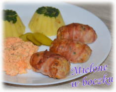 Mielone pieczone w boczku – Kulinarne S.O.S.