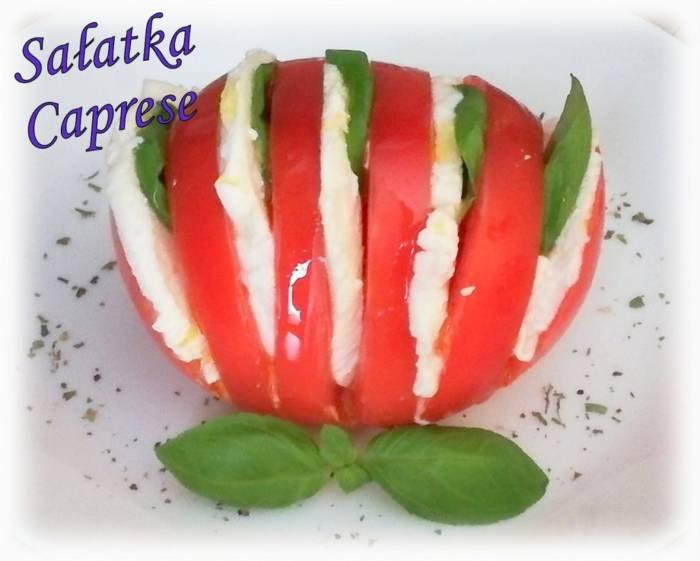 Sałatka Caprese – Kulinarne S.O.S.