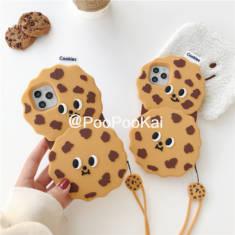 おしゃれ面白いクッキーかわいいiphone11promaxケースお菓子11 Pro/11個性的チョコクッキー アイフォン ...
