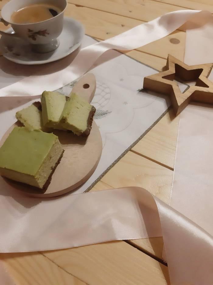 Pieczony sernik z zieloną herbatą   AleTorcik! – przepisy na pyszne, domowe ciasta, ciaste ...