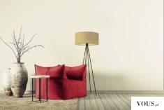 Niecodzienny design lampy to zasługa stelaża, którego wygląd przypomina sztalugę malarską opartą ...