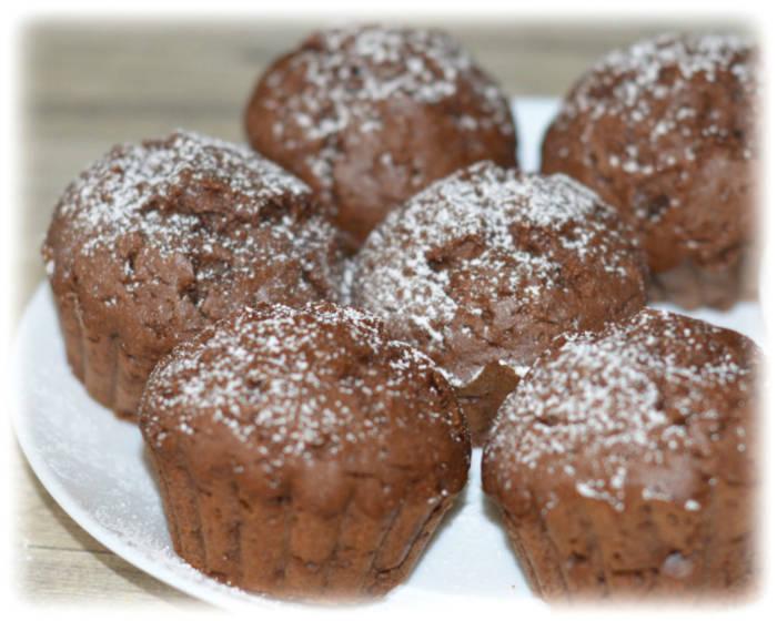 Najprostsze muffinki czekoladowe – Kulinarne S.O.S.