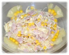 Sałatka z szynką i ananasem – Kulinarne S.O.S.