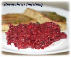 Buraczki ze śmietaną (na ciepło) – Kulinarne S.O.S.