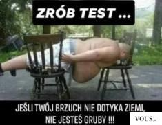 Test na otyłość