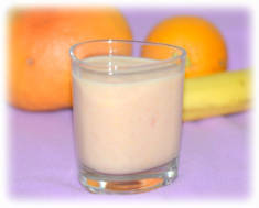 Koktajl z grejpfrutem, pomarańczą i bananem – Kulinarne S.O.S.