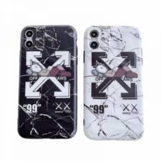 OFF-WHITE iPhone11/11pro maxケース オフホワイト カウズコラボ iphone11pro/seカバー カッコイイ