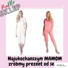 Piżama z jedwabiu, wiskozy, bawełny poleca sklep Pradlo