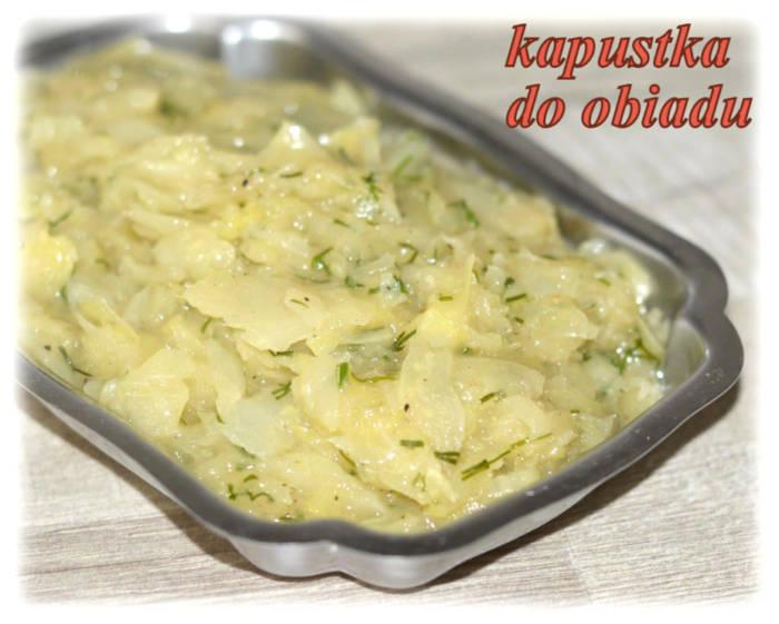 Duszona biała kapusta – Kulinarne S.O.S.