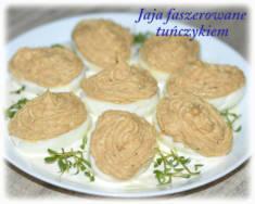 Jajka faszerowane tuńczykiem – Kulinarne S.O.S.