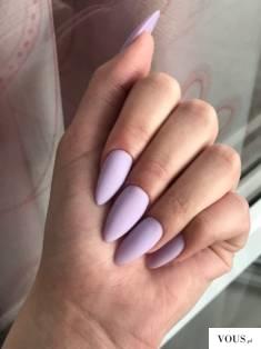 pastelowe paznokcie