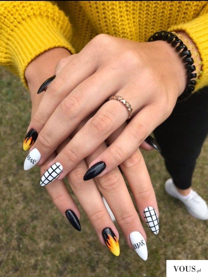 przedłużane paznokcie