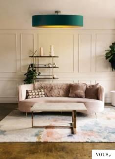 Plafoniera GRENADA GOLD została stworzona z myślą o pomieszczeniach wyróżniających się wyszukany ...