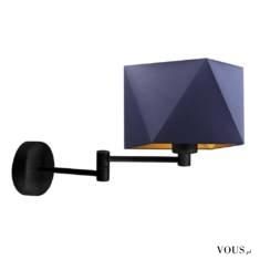 Kinkiet ścienny HANOI GOLD pełni ciekawą rolę oświetlenia dodatkowego. Ramię lampy zostało zamoc ...