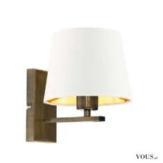 Prosta forma kinkietu HVAR GOLD idealnie sprawdzi się w klasycznie urządzonych pomieszczeniach.  ...