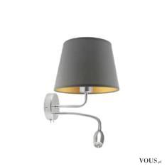 Kinkiet IMPERIA GOLD stworzono dla klientów ceniących sobie komfort użytkowania. Ta lampa ścienn ...
