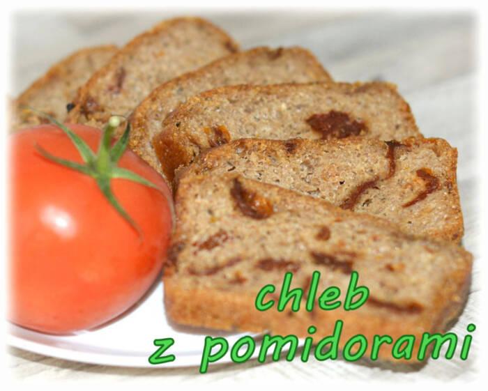 Chleb pszenny z suszonymi pomidorami – Kulinarne S.O.S.