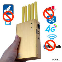 The portable Bluetooth jammer is a special design for confidentiality based on current mobile ph ...