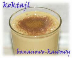 Koktajl bananowo-kawowy – Kulinarne S.O.S.