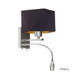 Prosta forma lampy ściennej MESSA GOLD idealnie wpisze się w klasyczne jak i nowoczesne aranżacj ...