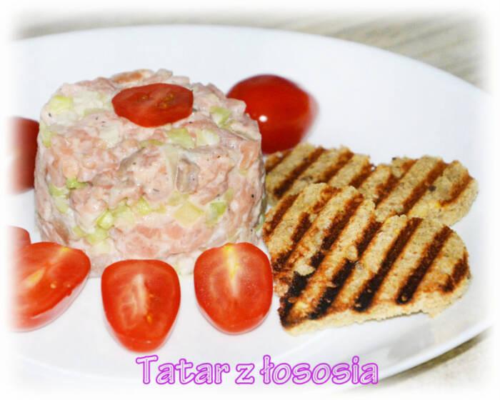 Tatar z łososia z majonezem – Kulinarne S.O.S.