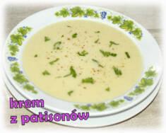 Zupa krem z patisonów – Kulinarne S.O.S.