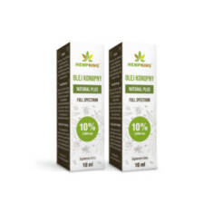 Olej CBD 10% od Hemp King