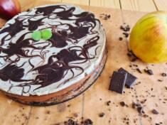 Sernik z nutellą i kremem waniliowym | AleTorcik! – przepisy na pyszne, domowe ciasta, cia ...