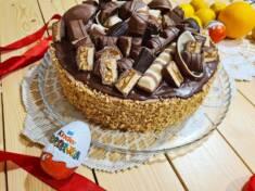 Tort czekoladowy z masłem orzechowym | AleTorcik! – przepisy na pyszne, domowe ciasta, cia ...