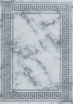 Dywan Naxos z połyskiem 06 grecki szary / srebrny – Sklep Eureka