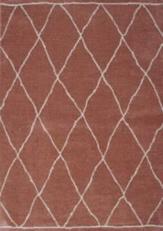 Dywan Sherpa 120×170 geometryczny różowy – Sklep Eureka