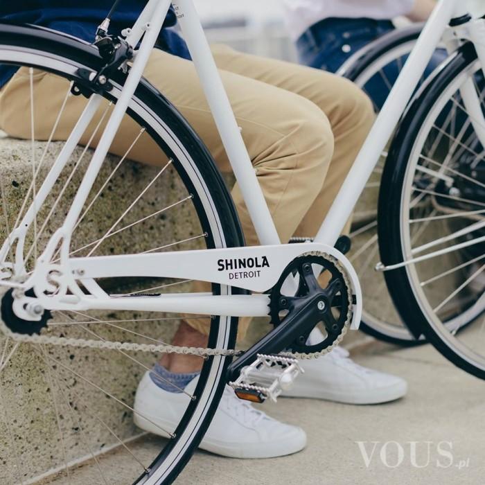 Shinola – biało-czarny rower