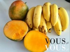 Owoce to najlepsze słodycze. Mango i banan