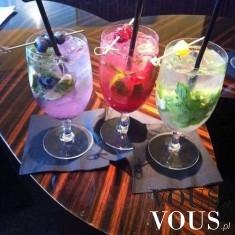 Owocowe drinki w 3 kolorach!