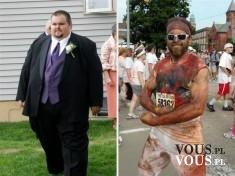 niesamowita metamorfoza, jak osiągnąć takie efekty, schudł ponad 70 kg !