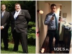 Efekty po ćwiczeniach, jak szybko schudnąć, motywacja do ćwiczeń, schudł 70 kg! metamorfoza