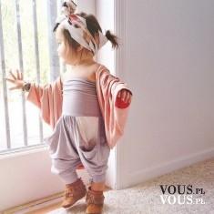 mała modelka, modnie ubrane dziecko, stroje dla małych dziewczynek