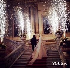 Ślub w bajkowej scenerii