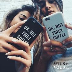ok, but first coffe, etui na iphone, śmieszne pokrowce na telefon