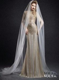 barokowa suknia ślubna