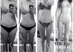 Niesamowita metamorfoza, schudła mnóstwo kilogramów, jak szybko schudnąć, efekty ćwiczeń i diety ...