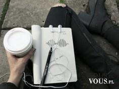 organizacja pracy, kawa, notes, jak skutecznie pracować, efektywna praca